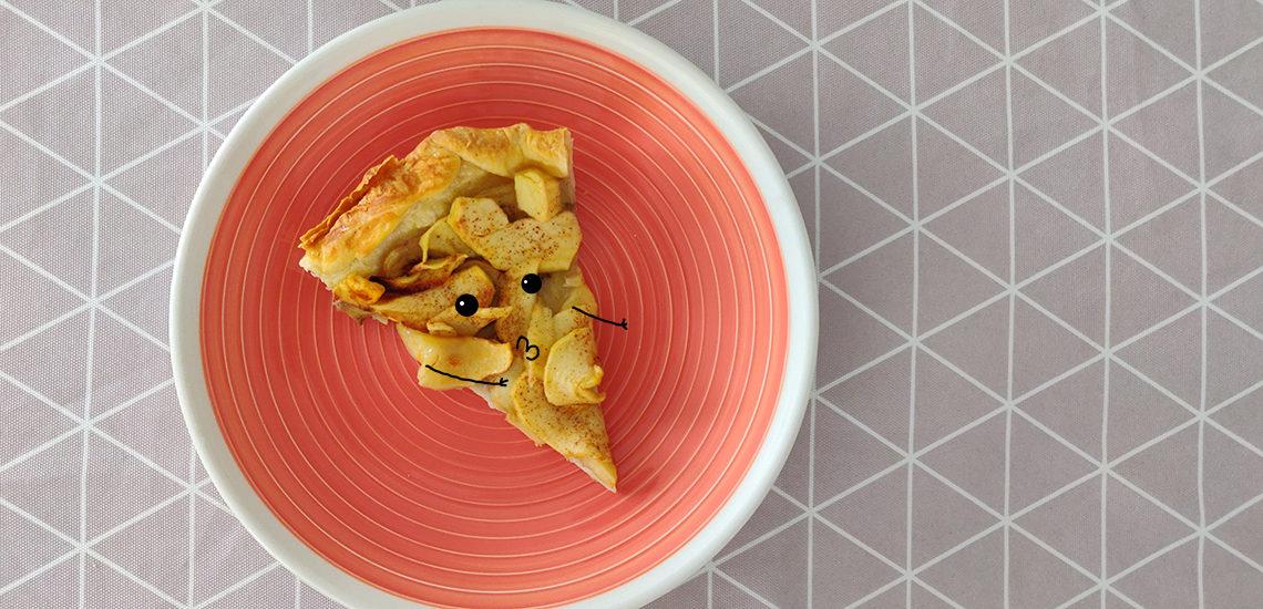 recette tarte pommes bananes
