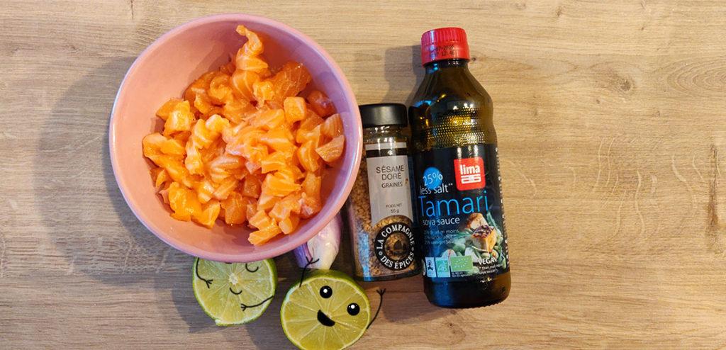 Une bonne marinade est le secret d'un poké bowl au saumon mariné réussi