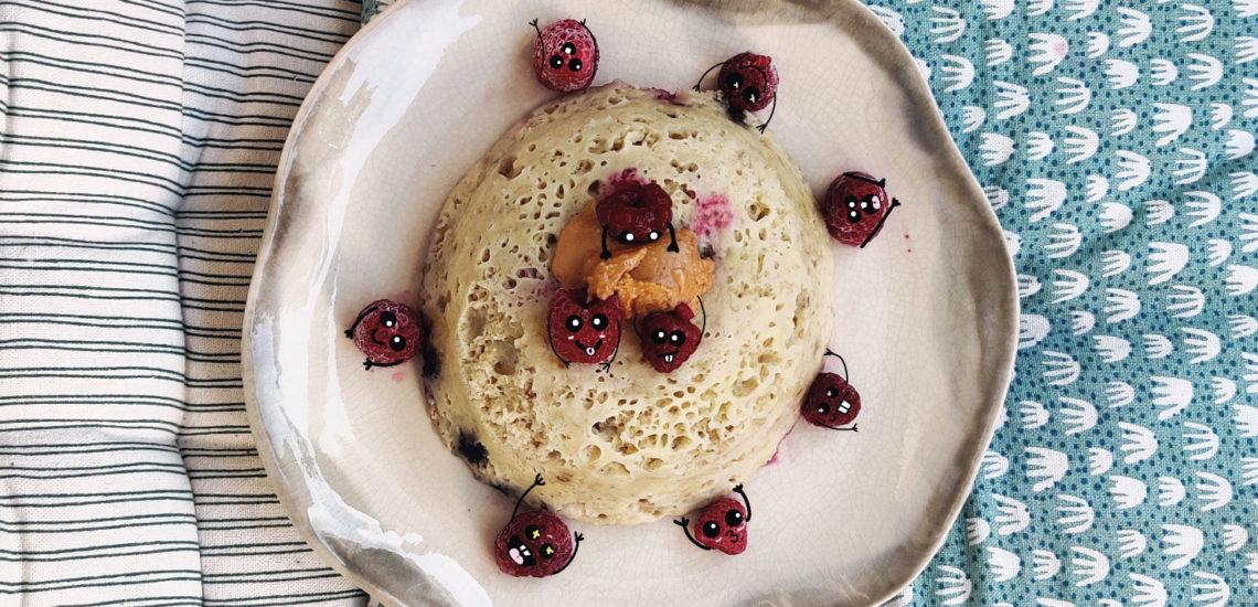 Bowl cake BasiliCoco, une recette facile